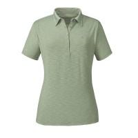 Schöffel Capri1 Damen Polo Shirt grün