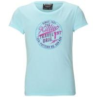 Killtec Tana JR Kinder T-Shirt aqua blau