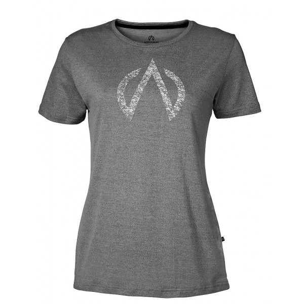North Bend ExoWool Tee Damen T-Shirt grau