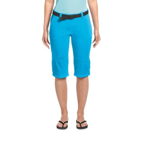 Maier Sports Kluane Damen Capri Wanderhose kurz blau