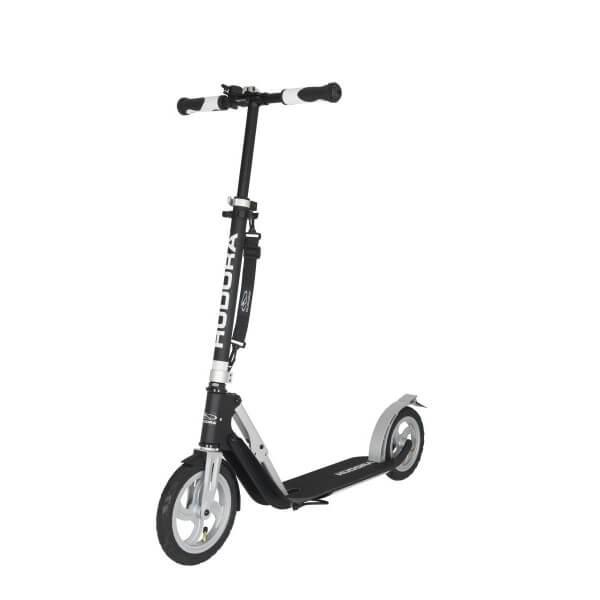 Hudora Big Wheel Air 230 Scooter mit Luftreifen Roller schwarz