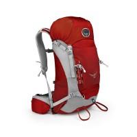 Osprey Kestrel 28 Wanderrucksack Backpacking rot