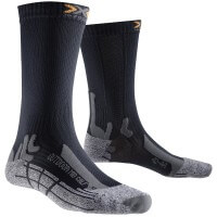 X-Socks Outdoor Mid Calf Sportsocken Wandersocken grau