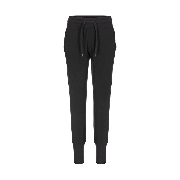 Super.Natural Essential Cuffed Pants Damen Merino Jogginghose schwarz