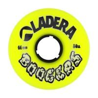Longboard Rollen Longboard Wheels gelb 4 Stück