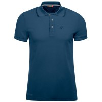 Maier Sports Comfort Polo Shirt aviator blau