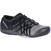 Merrell Trail Glove 4 Knit Damen Laufschuhe schwarz