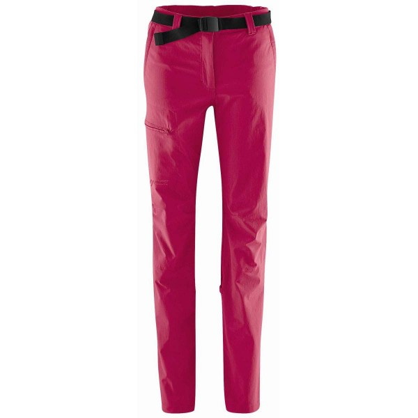 Maier Sports Lulaka Roll Up Damen Wanderhose rot