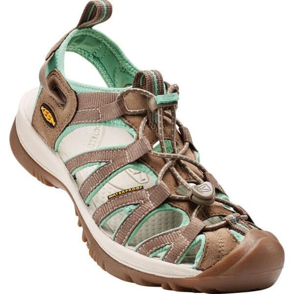 Keen Whisper Damen Sandalen beige grün