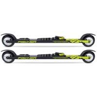 Fischer RC7 Skate Rollski mit Bindung schwarz