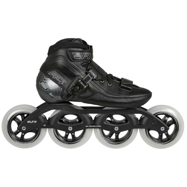 Powerslide R4 110mm Speed Skates Inline Skates schwarz