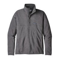 Patagonia LW Better Sweater Marsupial Fleece Pullover grau