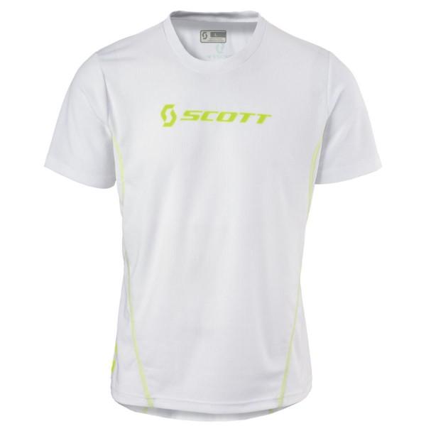 Scott Shirt Promo S/SL Laufshirt Funktionsshirt weiß