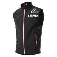 Löffler Weste AS Big L Active Stretch Softshell Funktionsweste schwarz