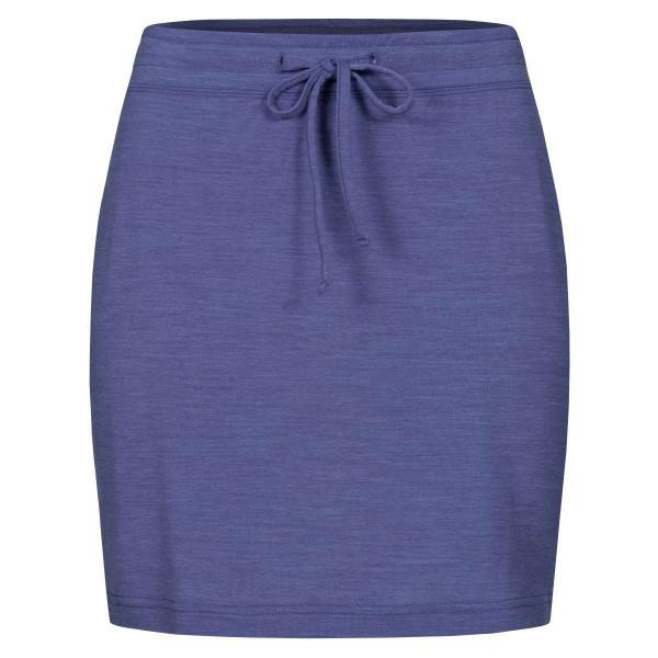 Super.Natural Everyday Skirt Damen Merino Funktionsrock blau
