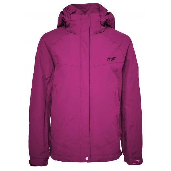 North Bend ExoRain Jacket Kinder Regenjacke pink