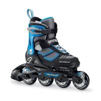 Rollerblade Spitfire Kinder Inline Skates schwarz blau