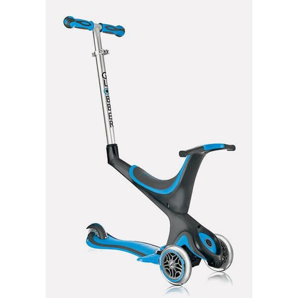 Globber My Free Kids 5in1 3 Wheel Scooter bi inject blau schwarz