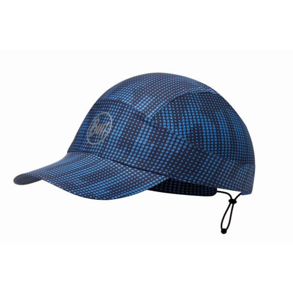 Buff Pack Run Cap R-Deep Logo Dark Navy Schildmütze blau