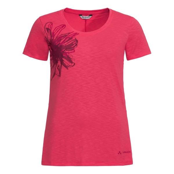 VAUDE Skomer Print Shirt II Damen Funktionsshirt pink