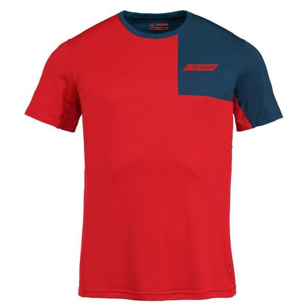 VAUDE Mens Scopi T-Shirt II Funktionsshirt rot