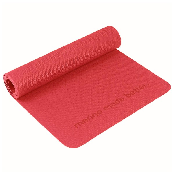 Super.Natural Yoga Mat Fitness Yogamatte rot