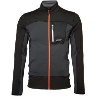 North Bend Nevis Zip Shirt Fleecejacke grau