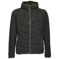 Killtec Wadimor Casual Strick Fleecejacke grau