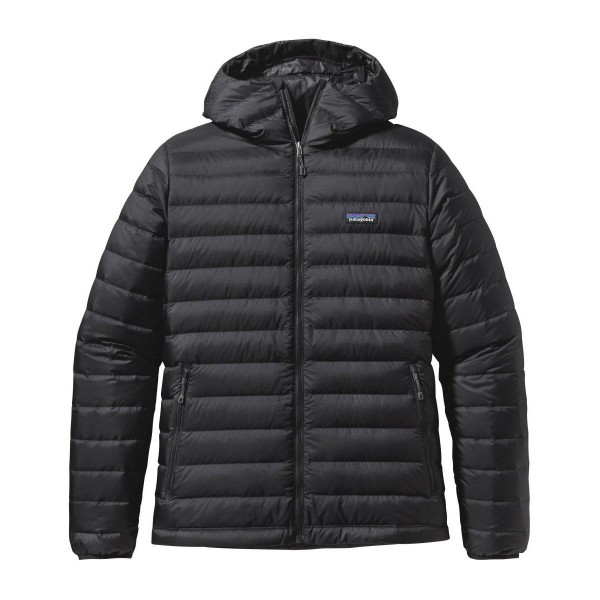 Patagonia Down Sweater Hoody Daunenjacke schwarz
