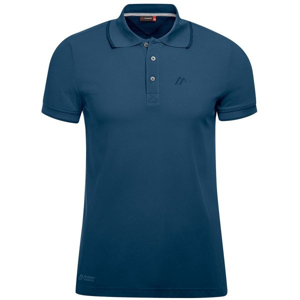 Maier Sports Comfort Polo Shirt aviator blau