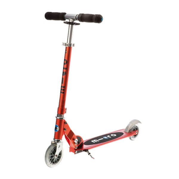 Micro Scooter Sprite red