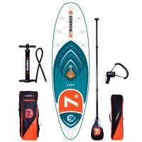 D7 Surf 9'6 iSUP Board Set mit Carbon Paddel 2018