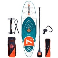 D7 Surf 9'6 iSUP Board Set mit Carbon Paddel 2018