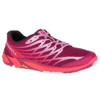 Merrell Bare Acess 4 Trail Running Damen Laufschuhe rot