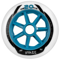 Matter One20Five Image 125mm Inline Skates Racing Wheels Rollen F0 6 Stück
