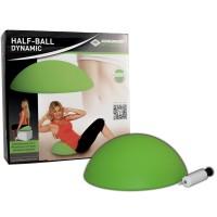 Schildkröt Fitness Half-Ball Dynamic inkl. Handpumpe + Poster