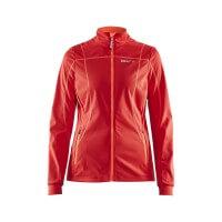 Craft Force Jacket Damen Softshelljacke rot