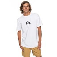 Quiksilver Classic Comp Logo SS T-Shirt weiß