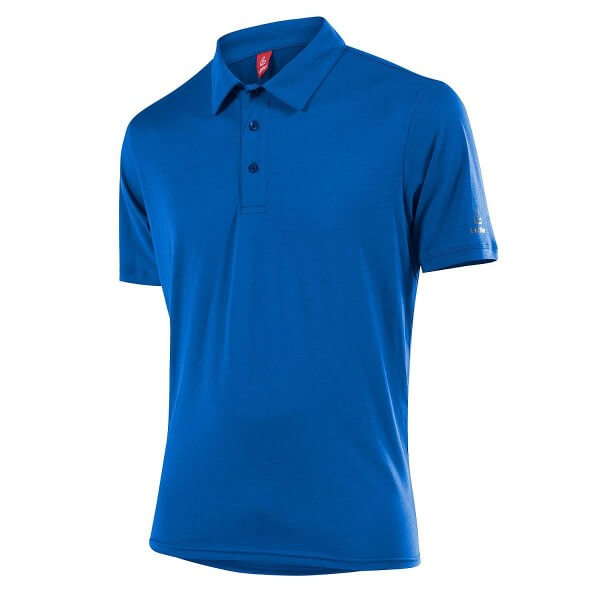 Löffler Poloshirt Transtex Single CF Polo Funktionsshirt blau