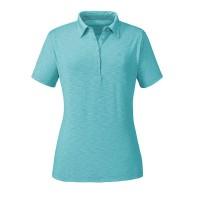 Schöffel Capri1 Damen Polo Shirt blau