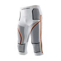 X-Bionic Ski Man Patriot Accumulator Evo Pants Germany Funktionsunterhose halblang weiß