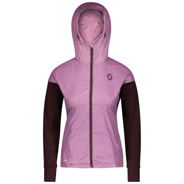 Scott Explorair Ascent Polar Hoody Damen Funktionsjacke rosa