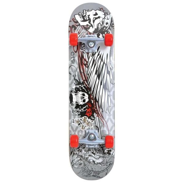 Schildkröt Kicker 31' Phantom Skateboard grau