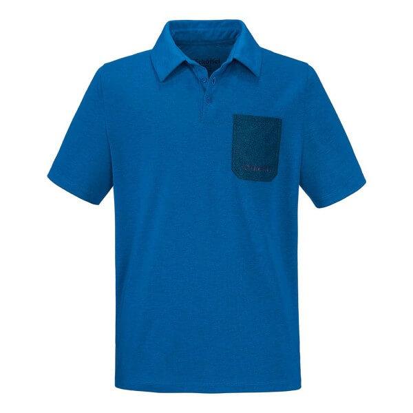 Schöffel Bibao Polo Shirt Funktionsshirt blau