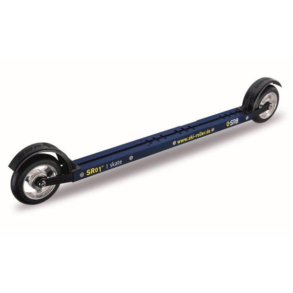 SRB SR01+ Premium Medium Spezial Skate Skiroller Set blau