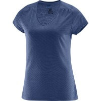 Salomon Ellipse SS TEE Damen T-Shirt Funktionsshirt blau