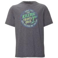 Killtec Fain JR Kinder T-Shirt dunkelnavy blau