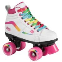 Chaya Glide Kids Unicorn Junior Roller Skates weiß