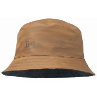 Buff Travel Bucket Hat Landscape Hut braun blau