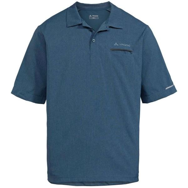 VAUDE Mens Turifo Polo Shirt blau